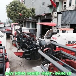 bán nhiều máy gặt liên hợp kubota dc70 thái lan giá rẻ có phụ tùng thay thế dễ dàng