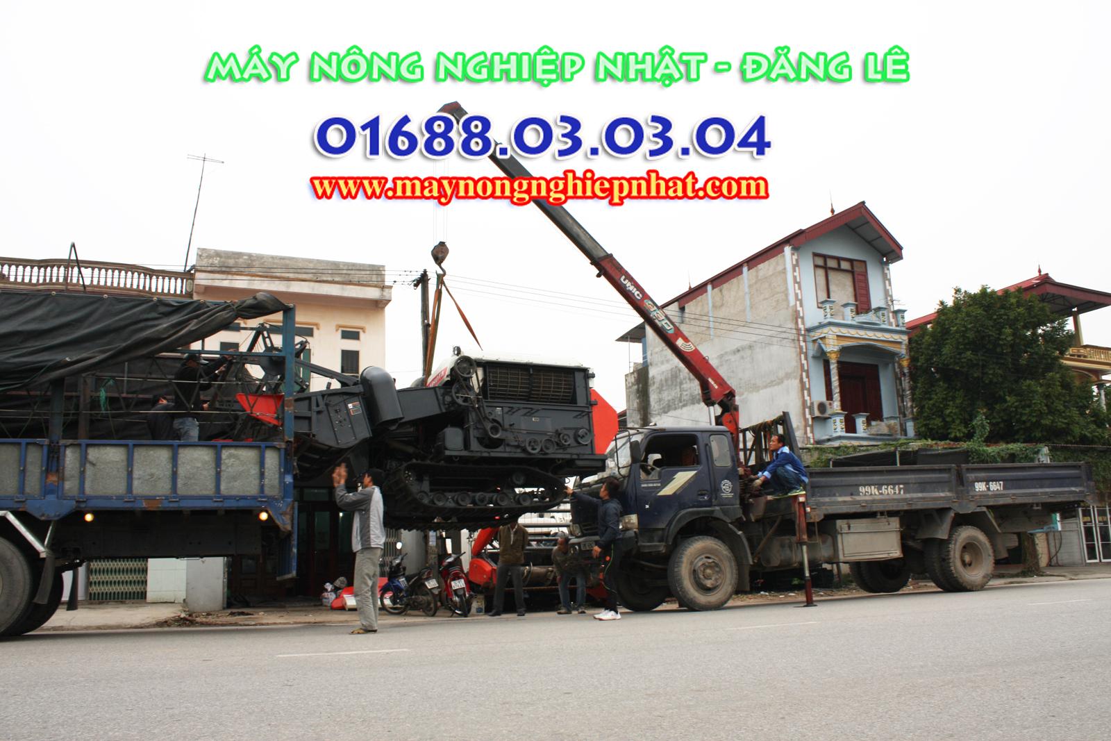 Bán máy gặt kubota dc70 thái lan đi Phú yên hà tây hà nội
