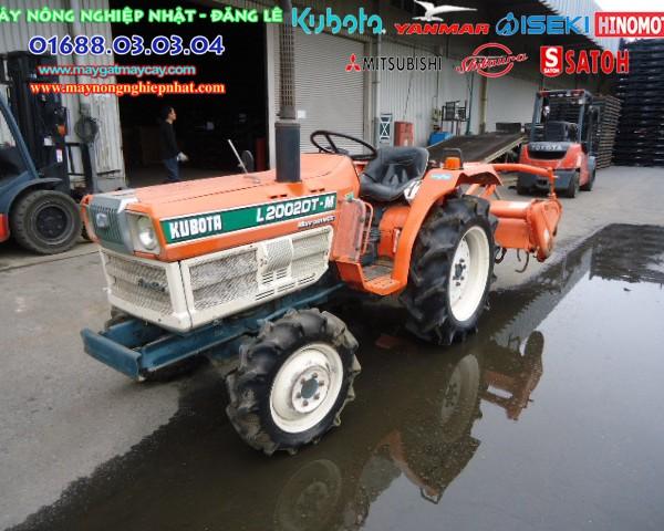 Kubota L2202DT Máy Cày nhật cũ bãi