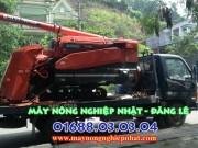 máy gặt liên hợp kubota r1 30 r1 35 nhật cũ bãi tăng đơ giá rẻ