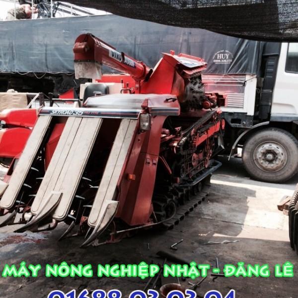 máy gặt nhật bãi kubota r1 35 tăng đơ phụ tùng giá rẻ