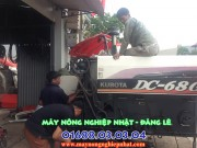 sửa chữa bảo dưỡng máy gặt đập liên hợp thay thế phụ tùng máy gặt cũ bãi nhật kubota yanmar iseki