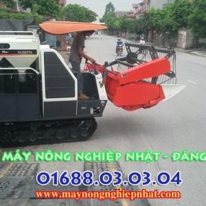 xe máy gặt liên hợp kubota dc68g thái lan nhập bãi nghĩa đĩa