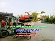 bán máy gặt kubota dc70 thái lan ninh bình