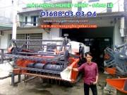 bán máy gặt đập liên hợp kubota dc60 thái cũ bãi đi quảng nam