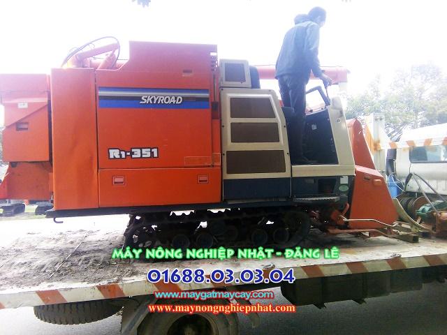 bán máy gặt kubota r1 351 hiệp hòa bắc giang máy gặt liên hợp nhật bãi cũ đã qua sử dụng