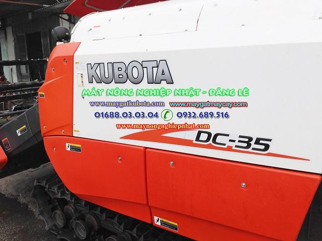 bán máy gặt kubota dc 35 việt nam đã qua sử dụng