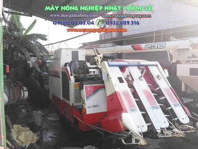 Xuất bán máy gặt lúa yanmar CA230 đi cao bằng