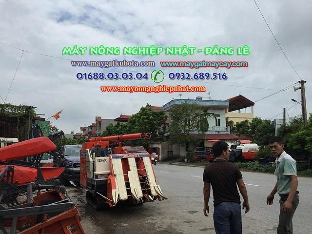 Xuất giao bán máy gặt lúa kubota ace 261