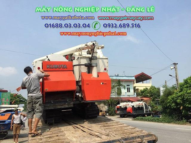 Xuất giao bán tiếp máy gặt lúa kubota dc70g ngay tại Gia Bình Bắc Ninh