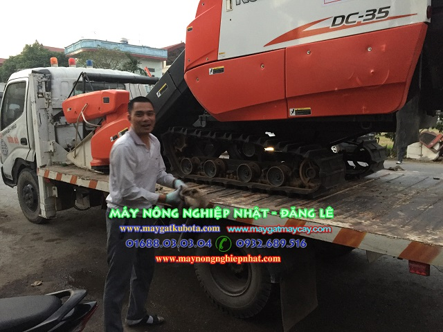 Đăng Lê nhập về nhiều máy gặt lúa kubota DC35 kubota DC95gm Kubota DC70