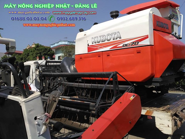 Xuất bán máy gặt kubota DC95gm