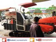 bán máy gặt kubota dc70 tại thanh hóa