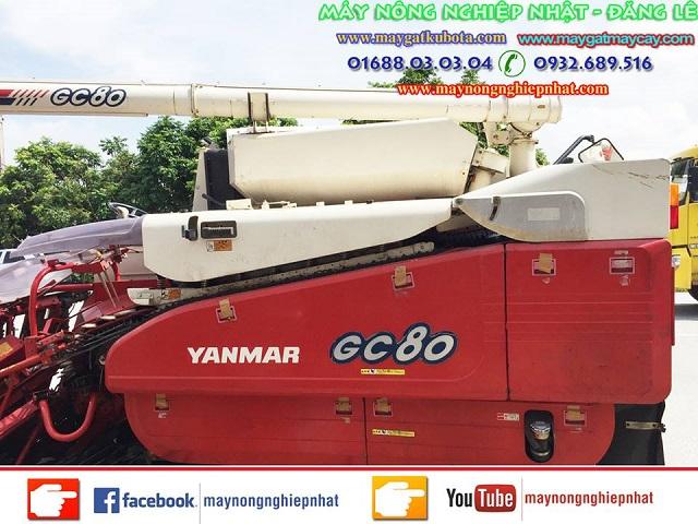 Xuất bán máy gặt yanmar gc80