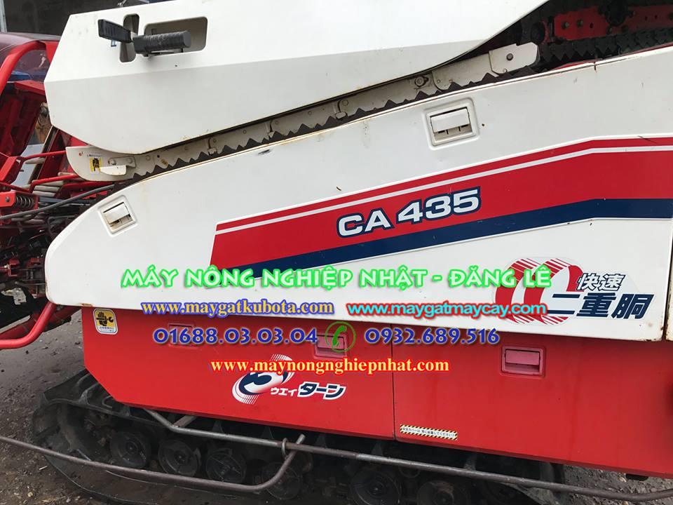 xuất bán máy gặt lúa yanmar CA435