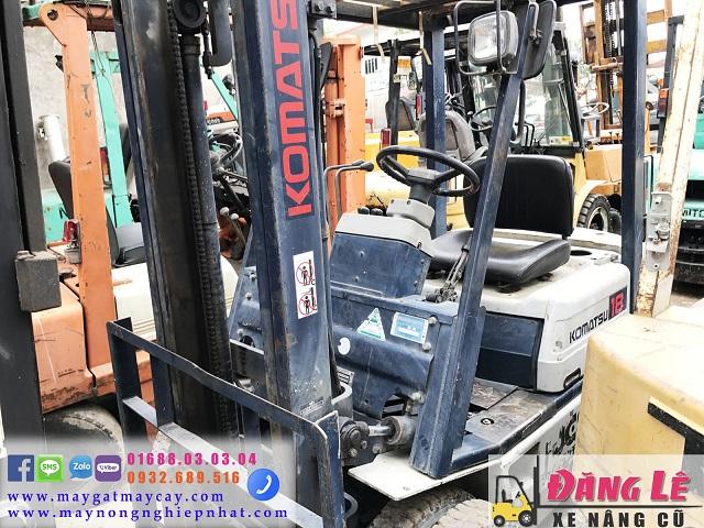 bán xe nâng cũ komatsu FD18 1 tấn 8 giá tốt