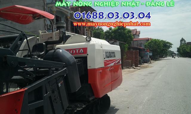 máy gặt kubota dc70g thái bãi nhập nguyên bản