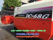 máy gặt kubota dc68 thái lan nhập bãi giá rẻ phụ tùng sẵn có