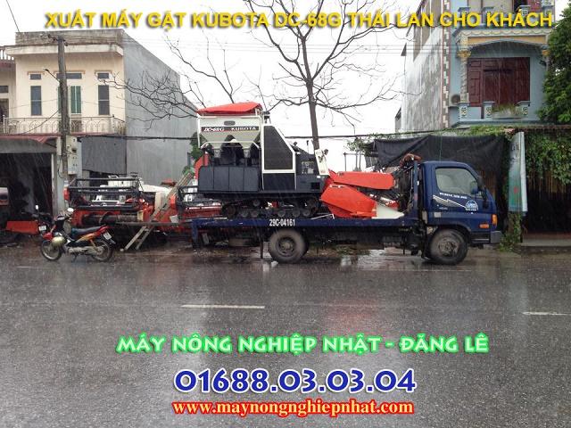 may gat dap lien hop kubota dc68 thai lan cu da qua su dung