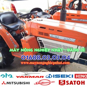 Máy cày máy kéo cũ kubota b1500 nhật bãi
