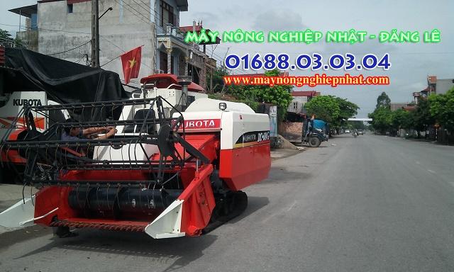 máy gặt kubota dc68g thái lan bãi chất đẹp nguyên bản chưa sửa chữa