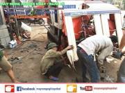 Xuất giao bán máy gặt kubota r1-55 tại hải dương